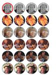 24 John Denver Edible Wafer Rice Cup Cake Toppers